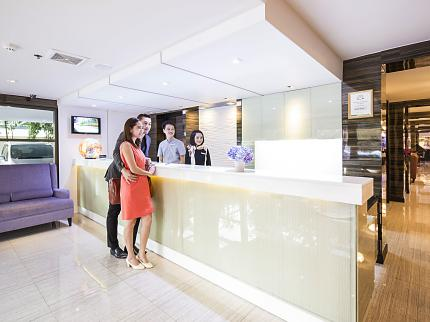 Aspen Suites Sukhumvit 2 by Compass Hospitality - Laterooms