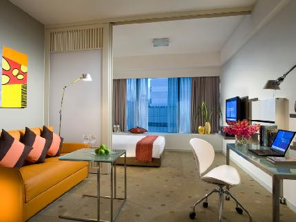 Citadines Mount Sophia Singapore - Laterooms