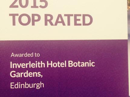 Inverleith Hotel Botanic Gardens - Laterooms